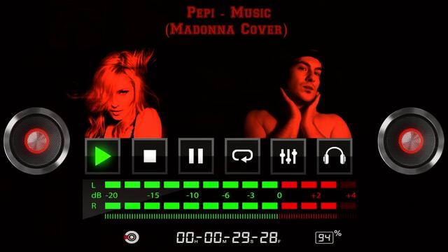 Pepi - Music (Madonna cover) | Official visualizer