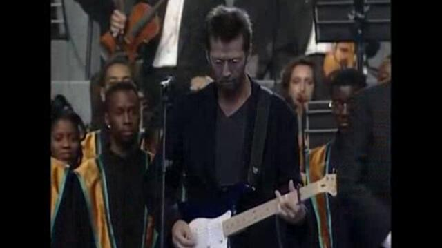 Eric Clapton Luciano Pavarotti East London Gospel Choir - Holy Mother (Live)