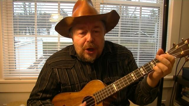 "Willard Losinger Performs ""Oh My Darling Clementine"" w/ Harmonica & Baritone Ukulele Accompaniment"