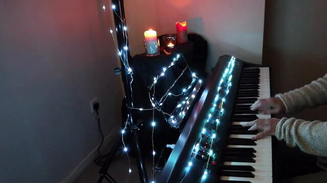 """This Christmas"" - by Donny Hathaway -  smooth jazz piano cover"