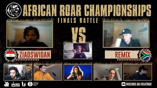 ZIADSWIDAN vs REMIX | African Roar Championship 2020 | FINAL