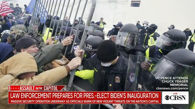 Law enforcement prepares for President-elect Joe Biden's inauguration