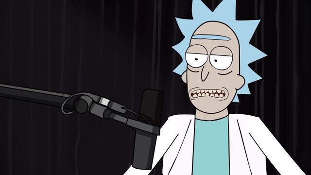 Joe Rogan Meets Rick Sanchez