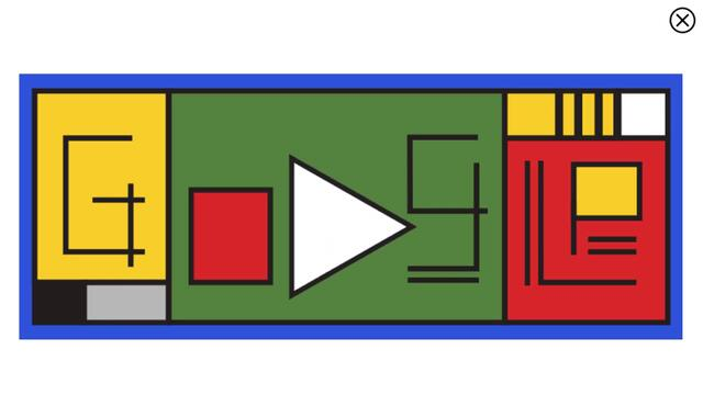Bauhaus movement - Animated Google Doodle, celebrates 100th Anniversary of Bauhaus