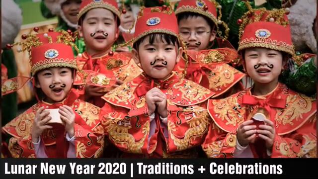 Лунната нова година 2020 настъпи в Азия! Lunar New Year 2020 What are the traditions, and which Asian cultures celebrate it