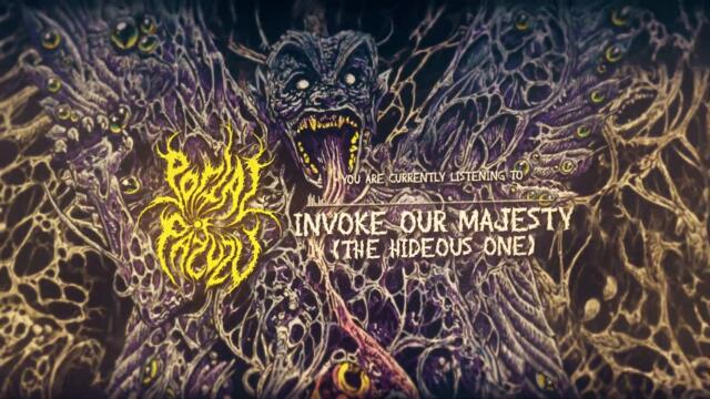 Portal of Pazuzu - Invoke Our Majesty (The Hideous One)- (Official Lyric Video)