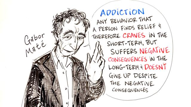 How Childhood Trauma Leads to Addiction - Gabor Maté